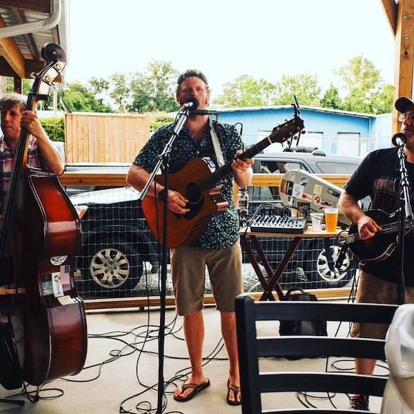 Dallas Baker and Friends on the Patio