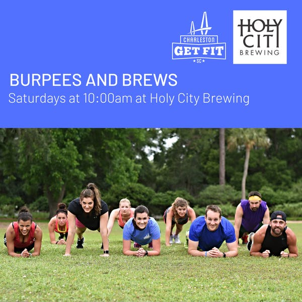 Burpees and Brews with Charleston Get Fit