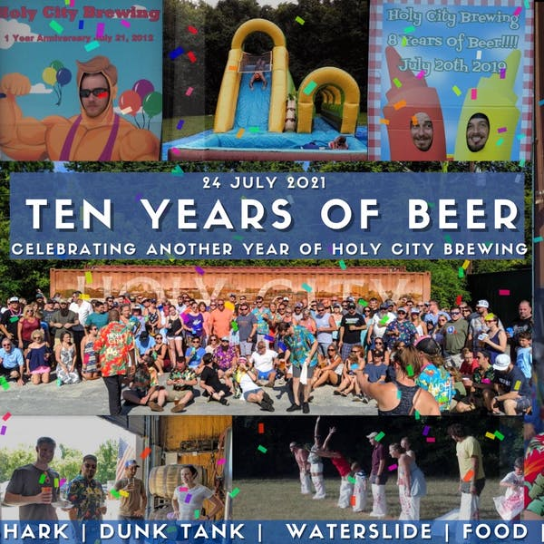 HCB 10-Year Anniversary Party