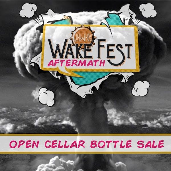 WakeFest Aftermath Open Cellar Bottle Sale – Whalentine's Day Edition