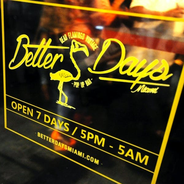 Better Days Draught Party