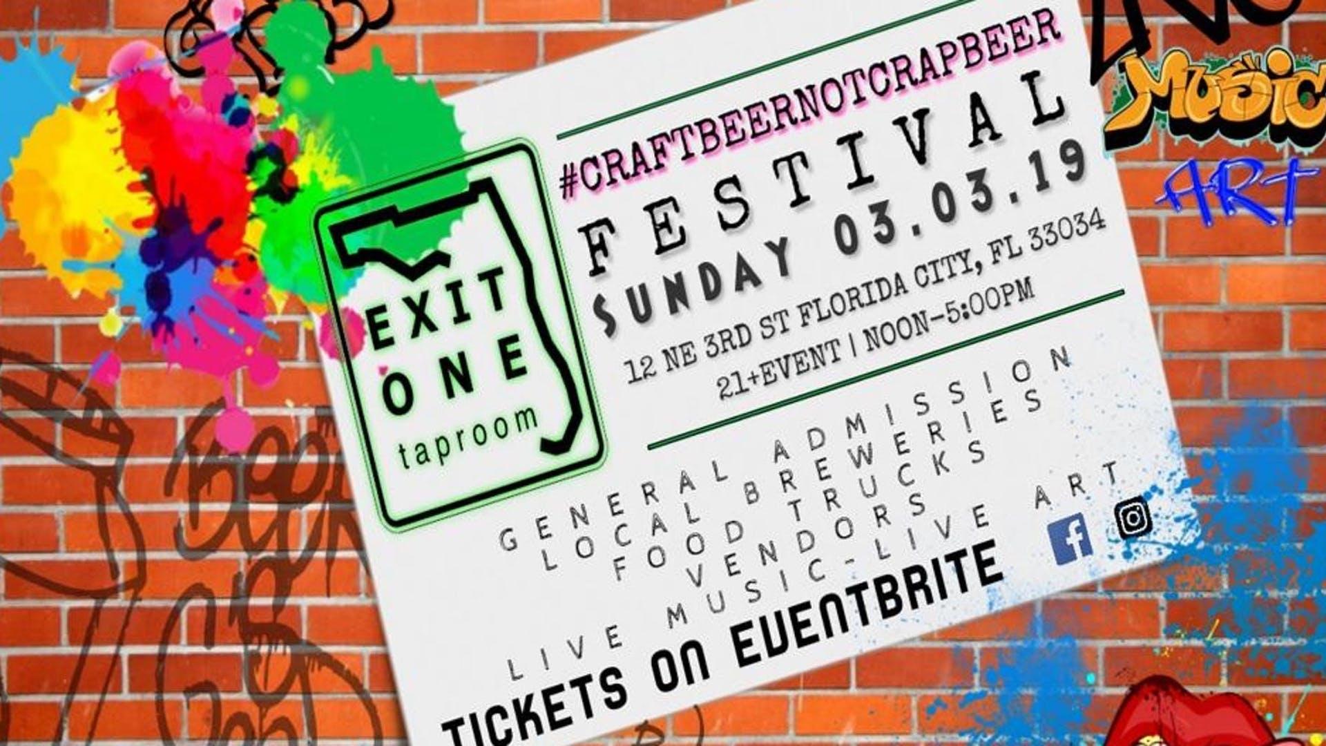 ExitOne Taproom Fest