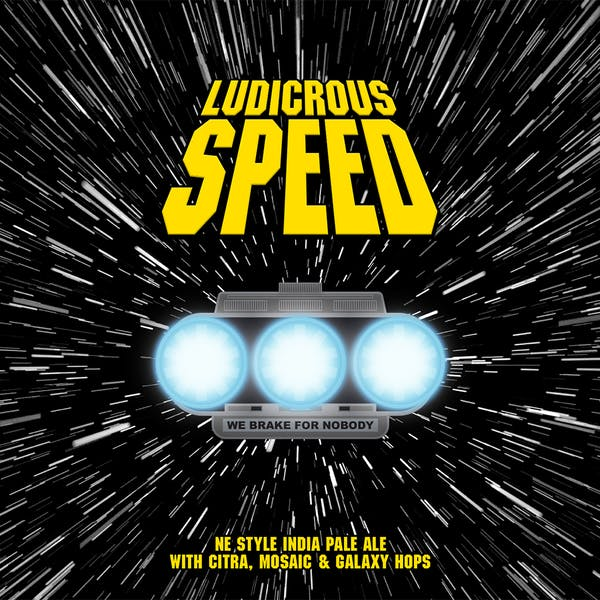 Image or graphic for Ludicrous Speed