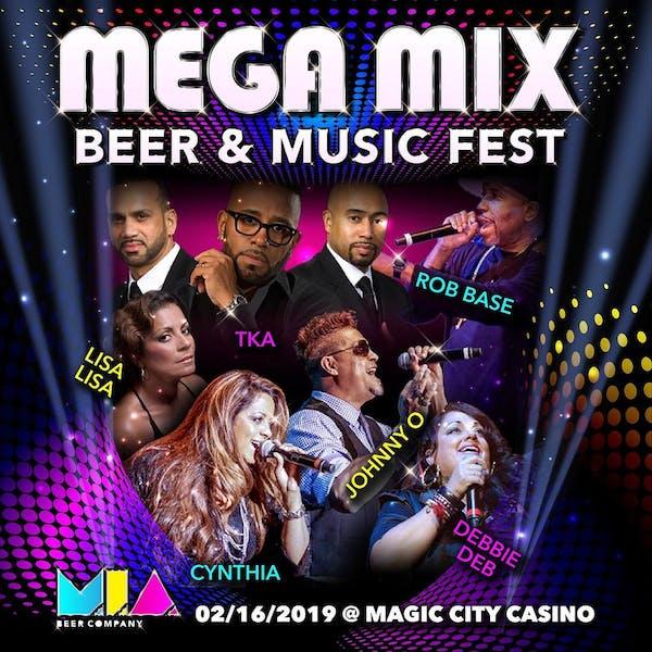 Mega Mix Beer & Music Fest