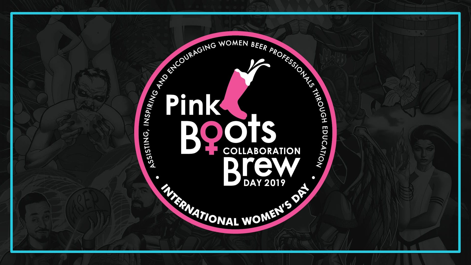 Pink Boots 2019 Banner