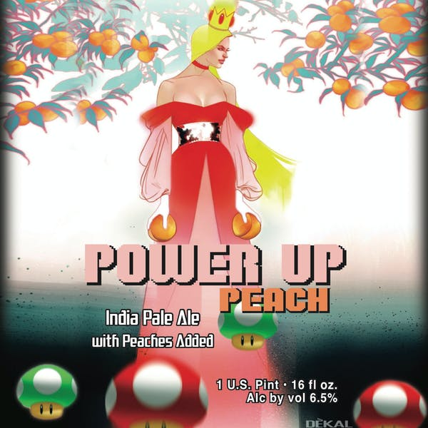 Power Up Peach