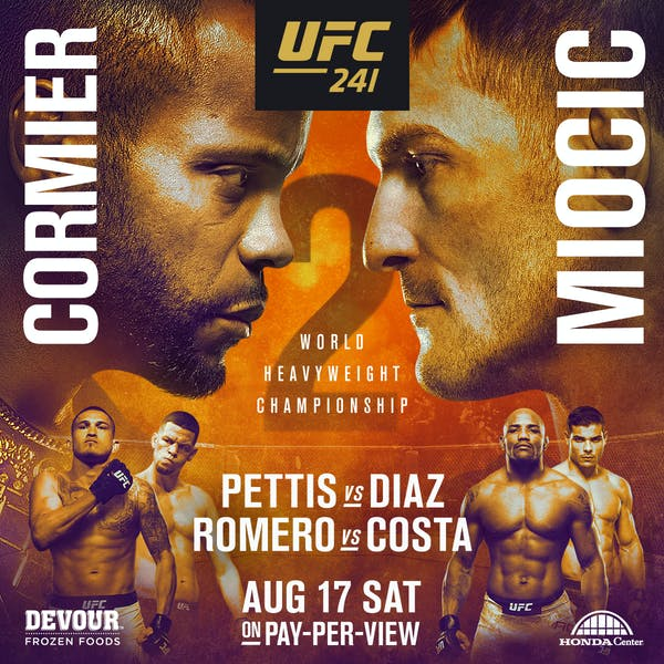 UFC 241 Watch Party