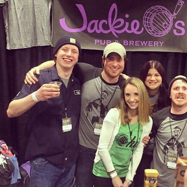 Catching Up With Jackie O's: Boston Fun and Bourbon Barrel Brick Kiln!