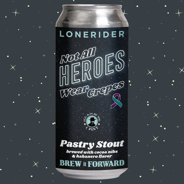 Lonerider Partners with InterAct for first Brew It Forward Release