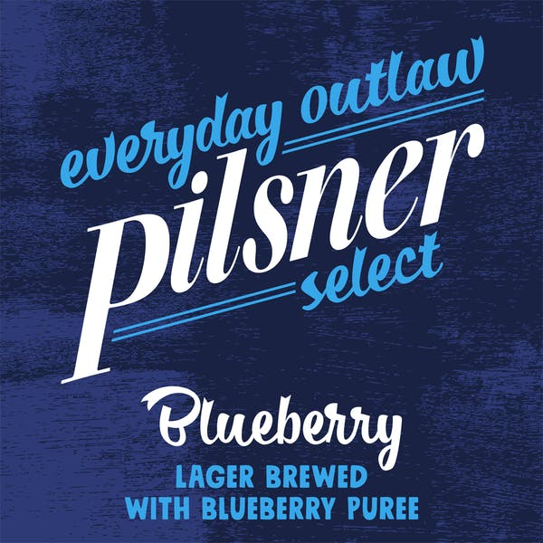 Image or graphic for Everyday Outlaw Blueberry Pilsner Select