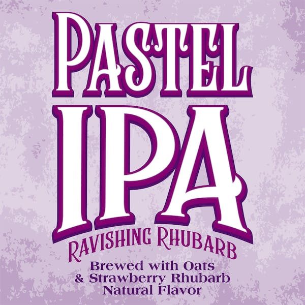 Image or graphic for Pastel IPA with Oats and Strawberry/Rhubarb concentrate