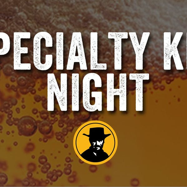 Specialty Keg Night at The Outlaw's Hideout – Mint Chocolate Deadeye Jack