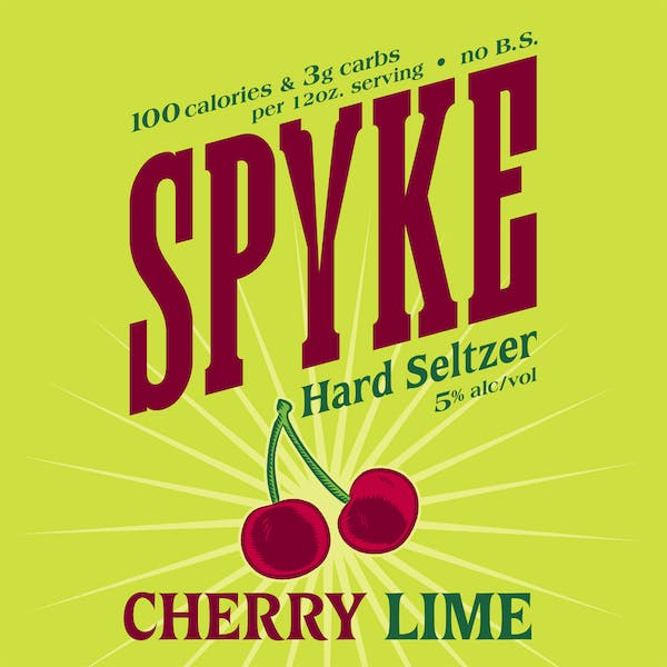 Image or graphic for Spyke Cherry Lime Hard Seltzer