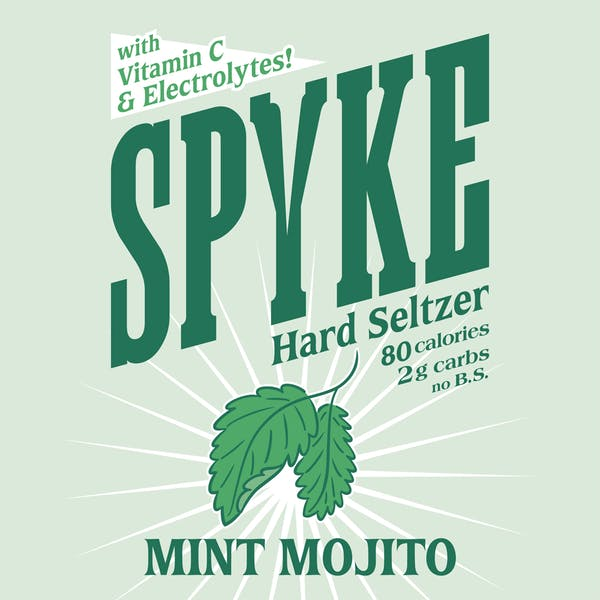 Image or graphic for Spyke Mint Mojito Hard Seltzer