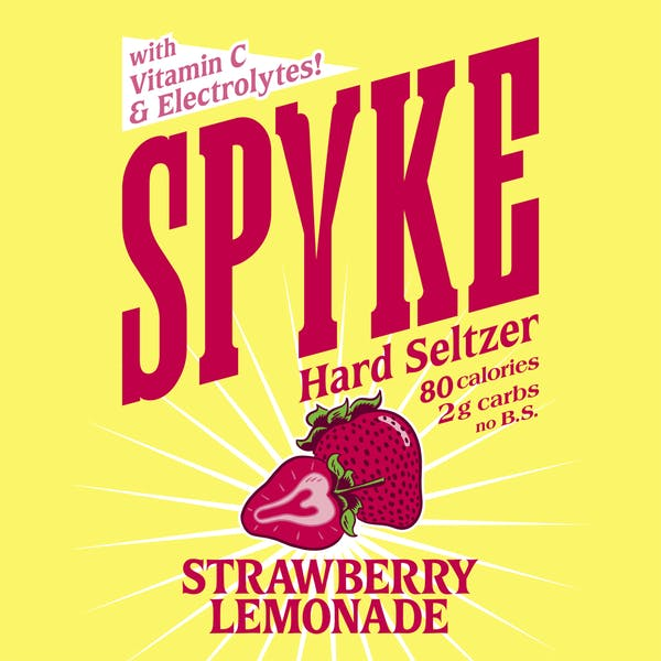 Image or graphic for Spyke Strawberry Lemonade Hard Seltzer