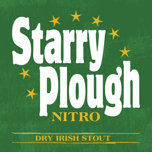 Image or graphic for Starry Plough Nitro Dry Irish Stout