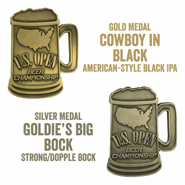 Cowboy in Black and Goldie's Big Bock Win at US Open