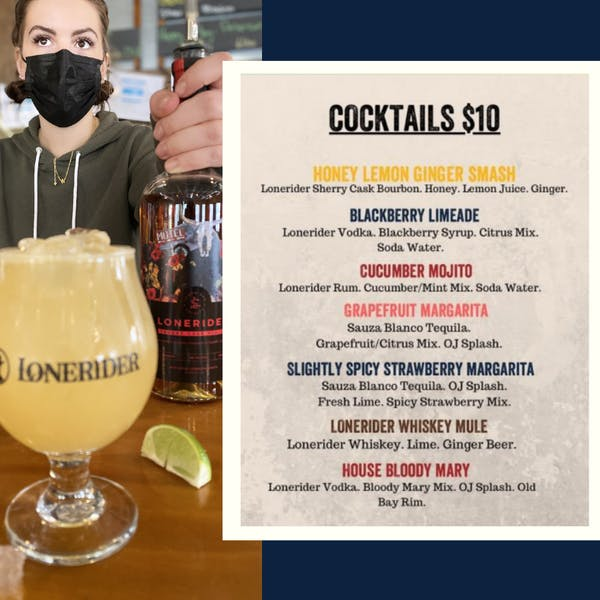 Cocktails coming to The Brewery Taproom this Friday!