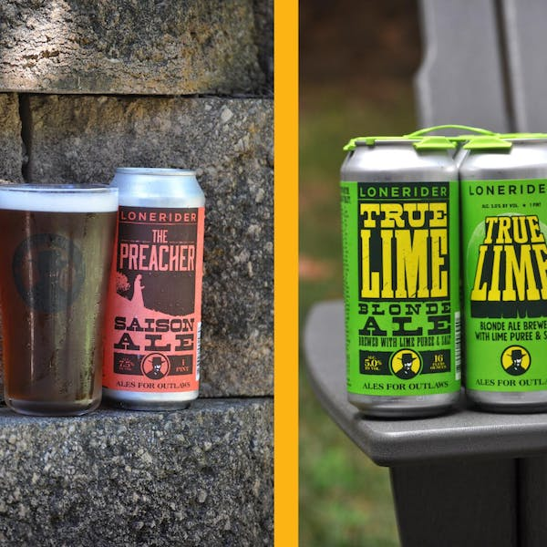We're rolling out new cans and speciality beers!