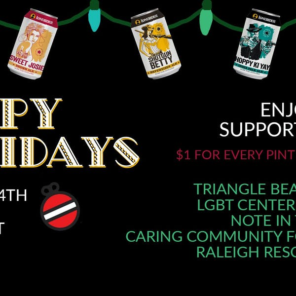 Hoppy Holidays – Pints for a Cause
