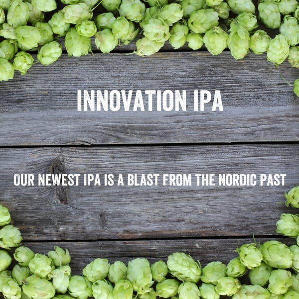 Innovation IPA has arrived for a limited time!