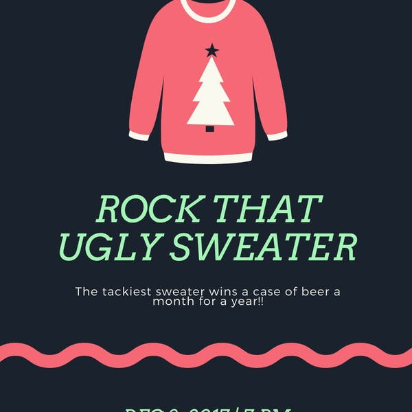 Lonerider's Annual Ugly Sweater Christmas Potluck