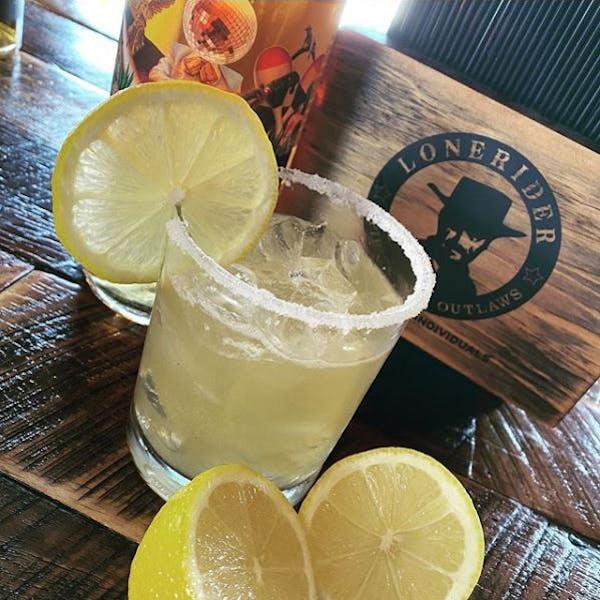 Honey Lemon Bourbon Margarita
