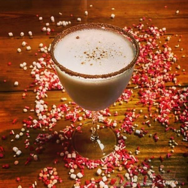 Valentine's Day Milk Punch