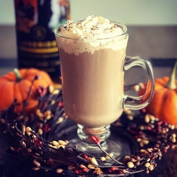 Bourbon-Spiked Pumpkin Spice Latte