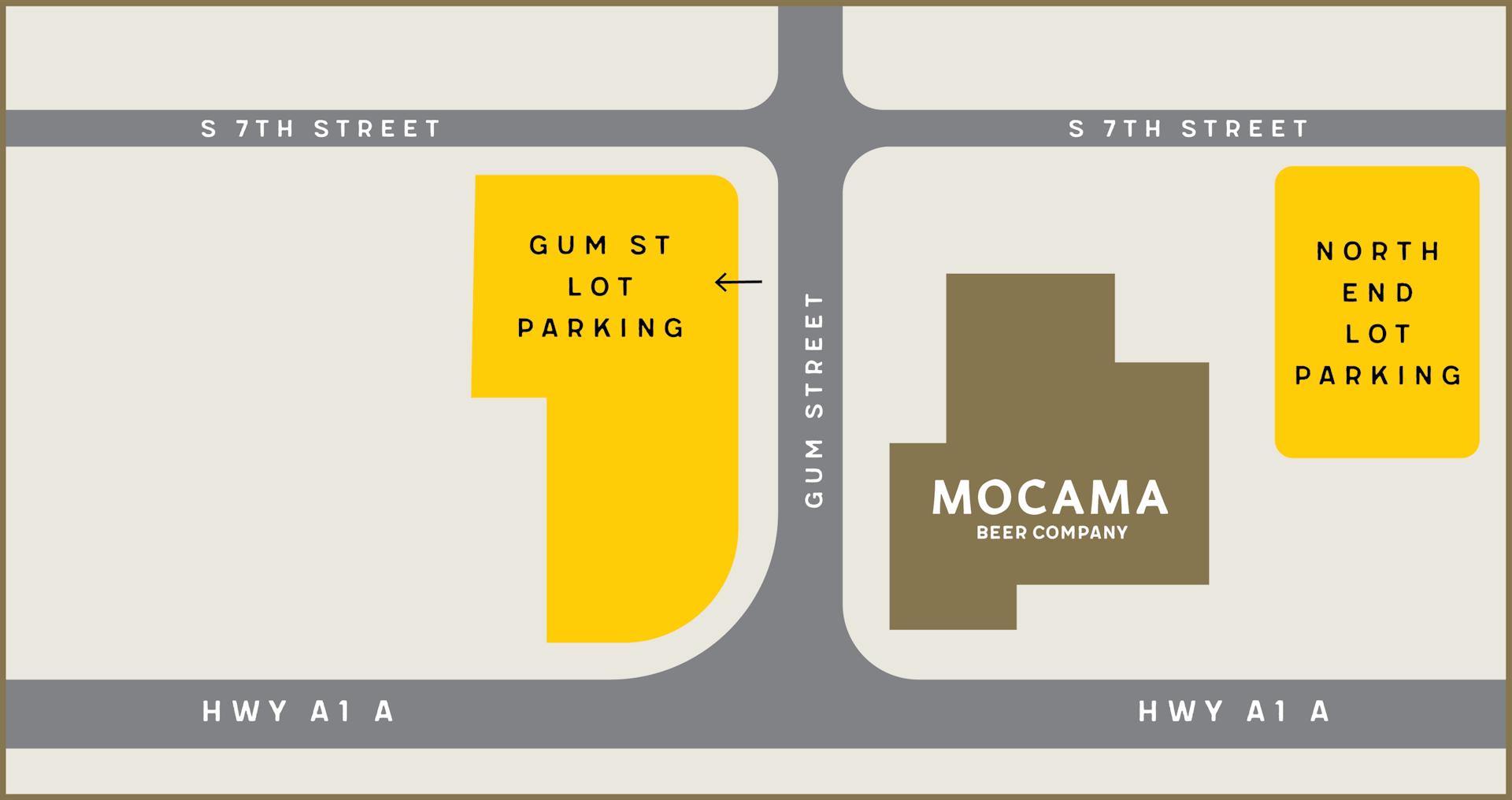mocama parking map
