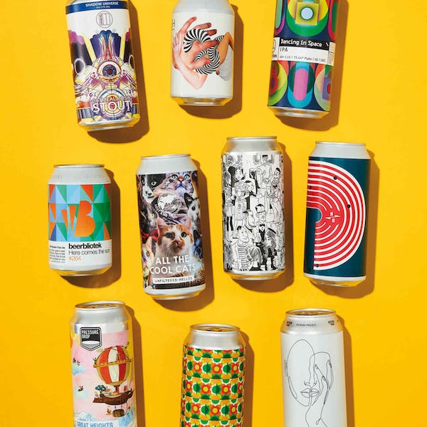 Can-do spirit: the rise of beer-label art