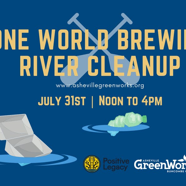One World Brewing River Clean Up