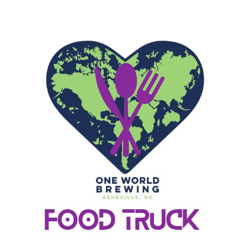 Purple Food Truck Logo