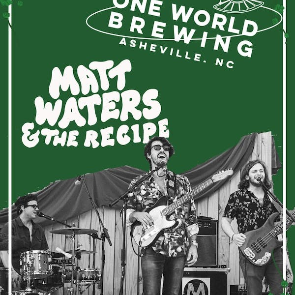St. Patty's Shindig with Matt Waters & The Recipe
