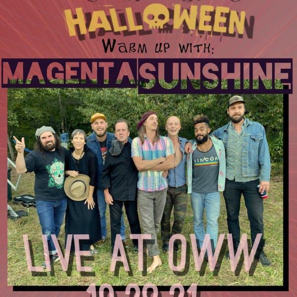 Magenta Sunshine: Spooky Halloween Warm Up
