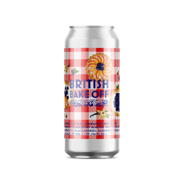British Bake Off w Cloudwater and Boundary
