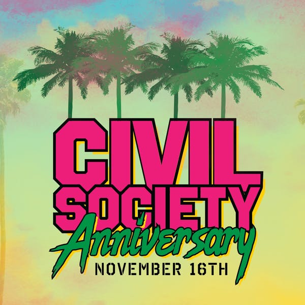 4TH ANNIVERSARY BLOCK PARTY @ CIVIL SOCIETY BREWING CO