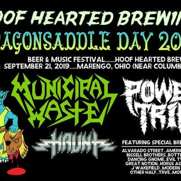 DRAGONSADDLE DAY @ HOOF HEARTED BREWING