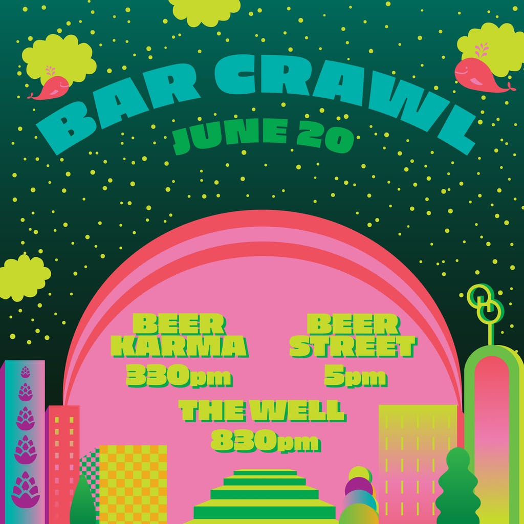 IG Square - Bar Crawl 062019