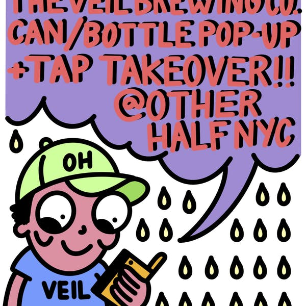 THE VEIL TAP TAKEOVER @ OHB BK