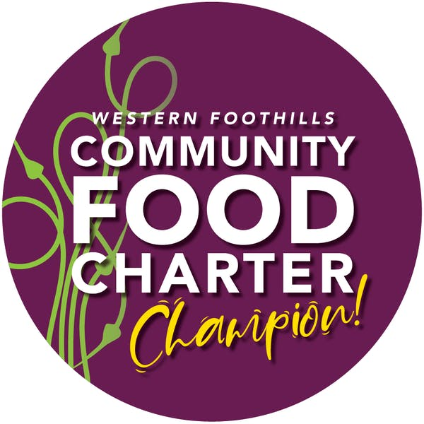 Western Foothills Community Food Charter