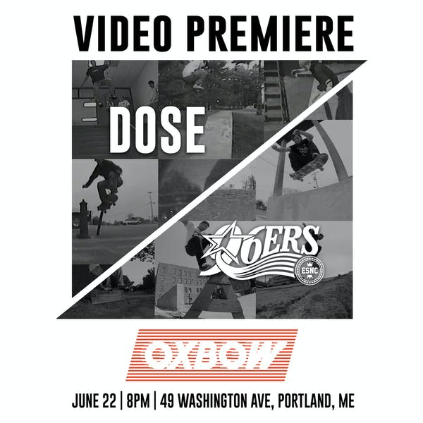 Skateboard Video Premiere: DOSE & 96ERS