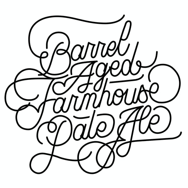 Barrel-Aged Farmhouse Pale Ale