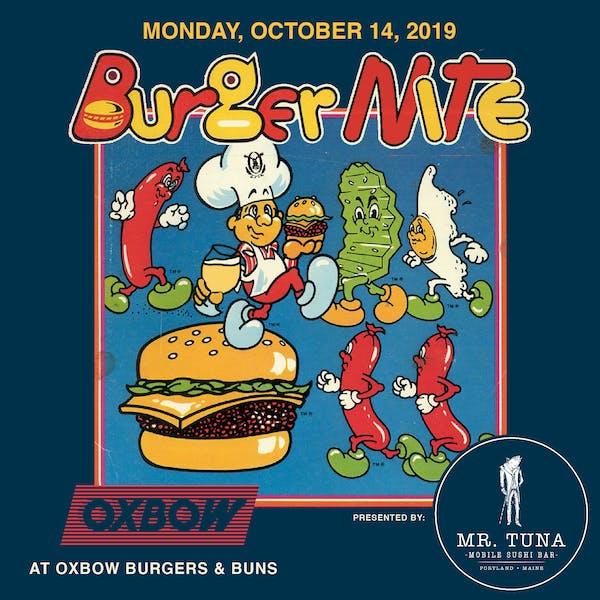 Burger Nite Mr. Tuna