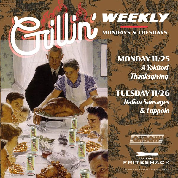 Grillin' Weekly: Italian Thanksgiving