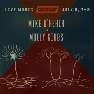 live_music_mike_ohehir_and_molly_gibbs_flier