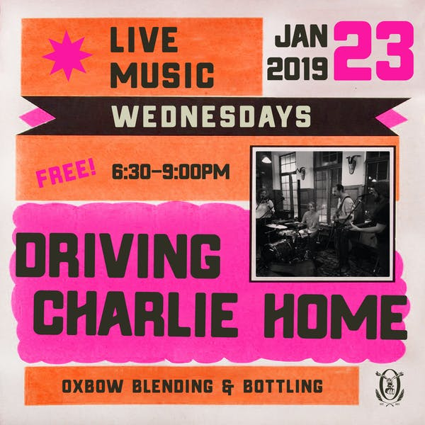 Live Music Wednesdays: Driving Charlie Home