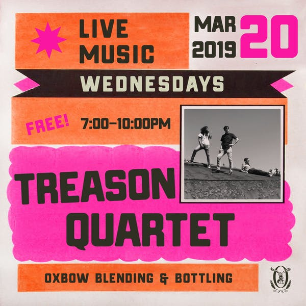 Live Music Wednesdays: Treason Quartet