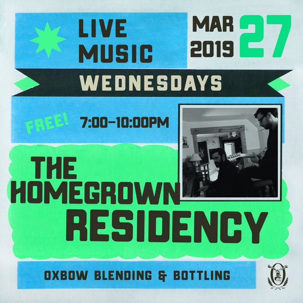 Live Music Wednesdays: The Homegrown Residency