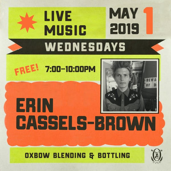 Live Music Wednesdays: Erin Cassels-Brown